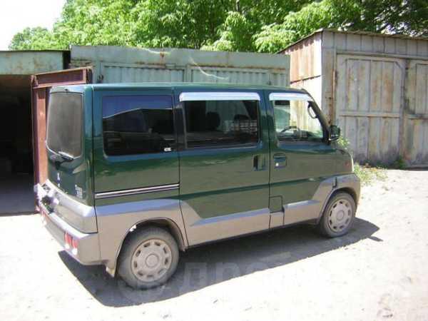 Mitsubishi Town Box Wide, 2001 год, 220 000 руб.