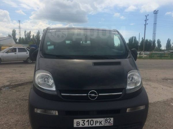 Opel Vivaro, 2005 год, 550 000 руб.