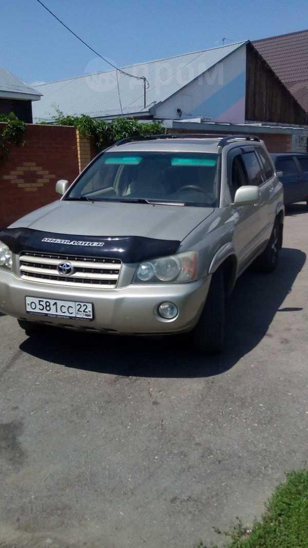 Toyota Highlander, 2002 год, 640 000 руб.