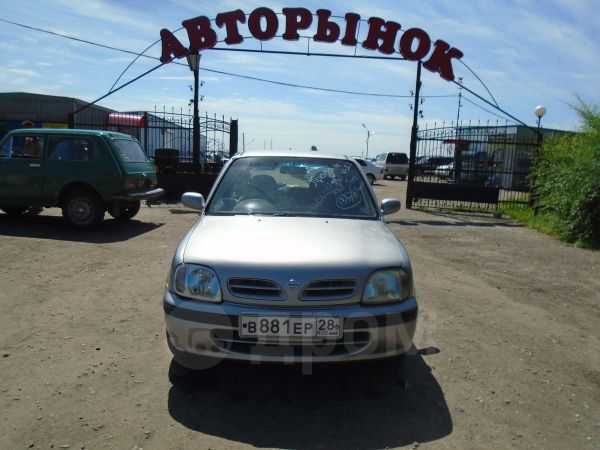 Nissan March, 1999 год, 133 000 руб.