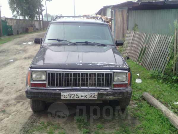 Jeep Cherokee, 1992 год, 135 000 руб.