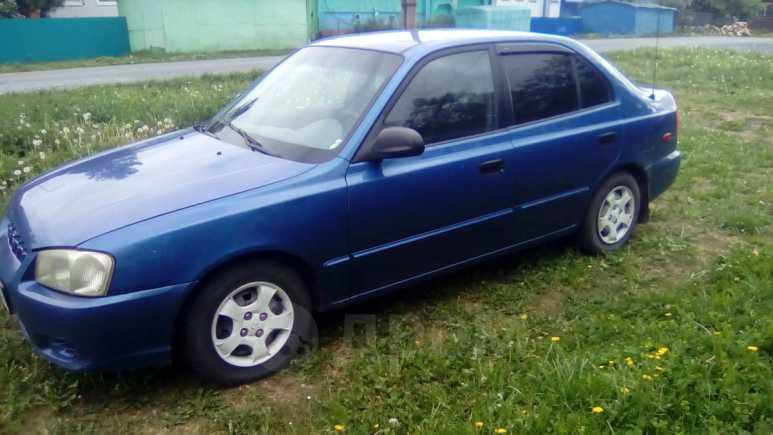 Hyundai Accent, 2001 год, 170 000 руб.
