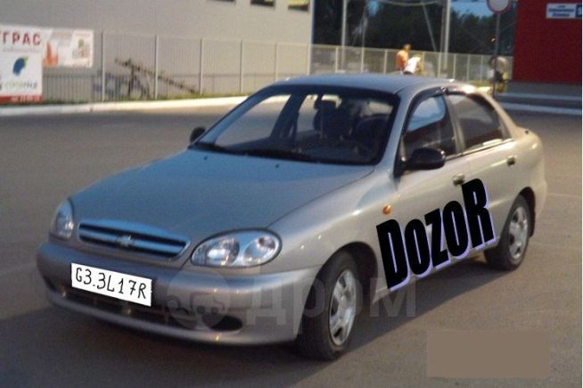Chevrolet Lanos, 2001 год, 220 000 руб.