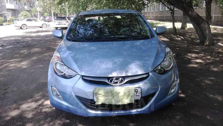 Hyundai Elantra, 2012 год, 550 000 руб.