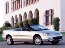 Chrysler Sebring 2 поколение, 09.2000 - 01.2003, Открытый кузов