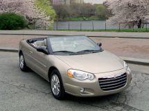 Chrysler Sebring рестайлинг, 2 поколение, 01.2003 - 01.2006, Открытый кузов