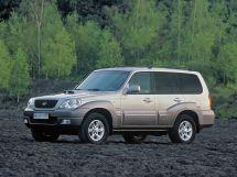Hyundai Terracan рестайлинг 2004, джип/suv 5 дв., 1 поколение, HP