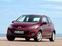 Mazda Mazda2 рестайлинг 2010, хэтчбек 3 дв., 2 поколение, DE