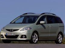 Mazda Mazda5 рестайлинг 2007, минивэн, 2 поколение, CR