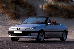 Peugeot 306 рестайлинг 1997, открытый кузов, 1 поколение