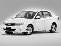 Subaru Impreza 3 поколение, 04.2007 - 06.2012, Седан