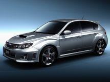 Subaru Impreza WRX STI рестайлинг, 3 поколение, 07.2010 - 08.2014, Хэтчбек 5 дв.