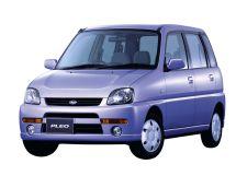 Subaru Pleo 2-й рестайлинг, 1 поколение, 10.2002 - 03.2010, Хэтчбек 5 дв.