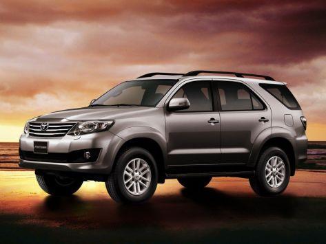 Toyota Fortuner (AN50, AN60) 11.2011 - 06.2015