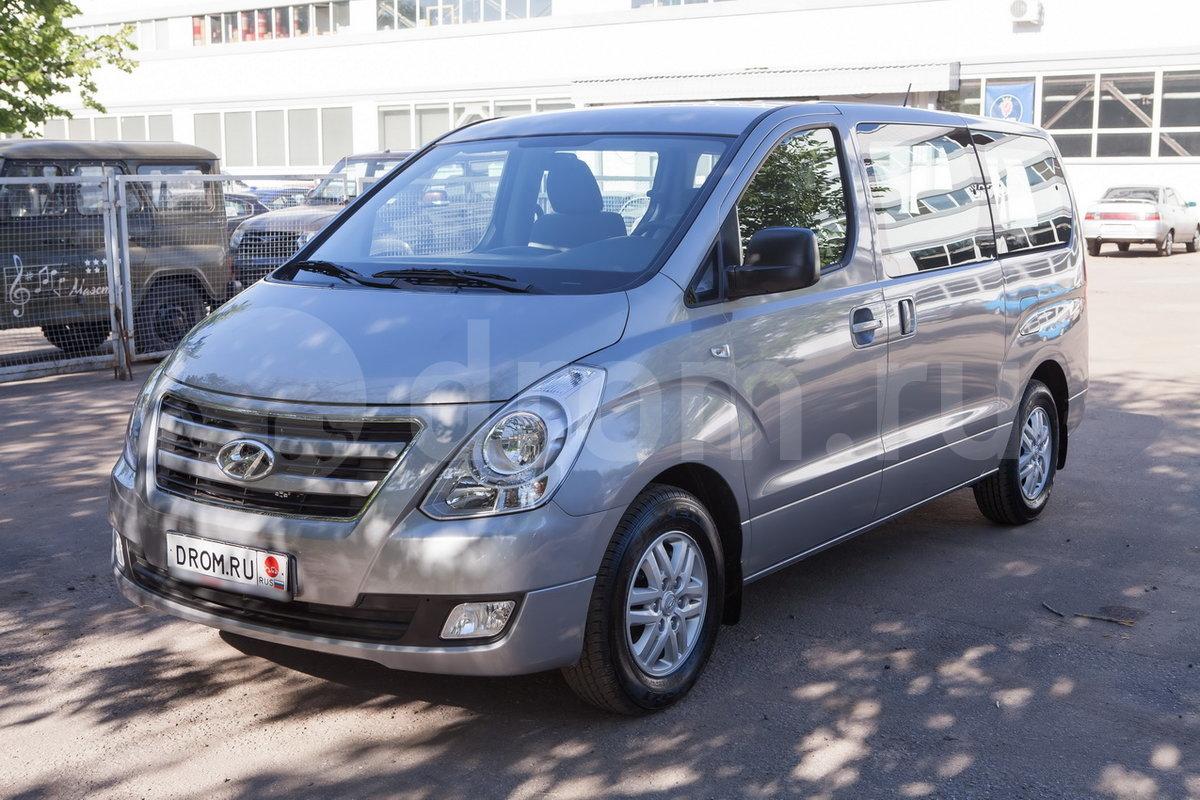 hyundai h1 или volkswagen caravelle