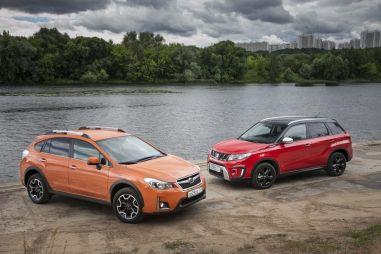 Suzuki Vitara S против Subaru XV: бой в легком весе
