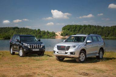 Тест-драйв Toyota Land Cruiser Prado и Haval H9. Прадорожники