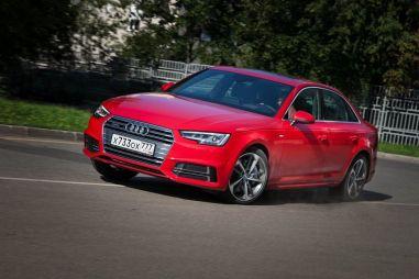 Тест-драйв седана Audi A4. Близость идеала