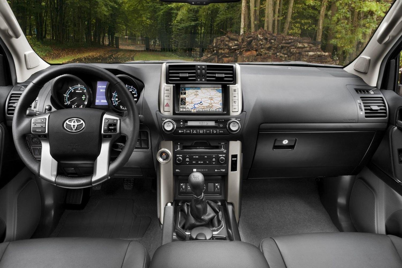 2015 Toyota Land Cruiser Prado - Навигация (in Russian ...