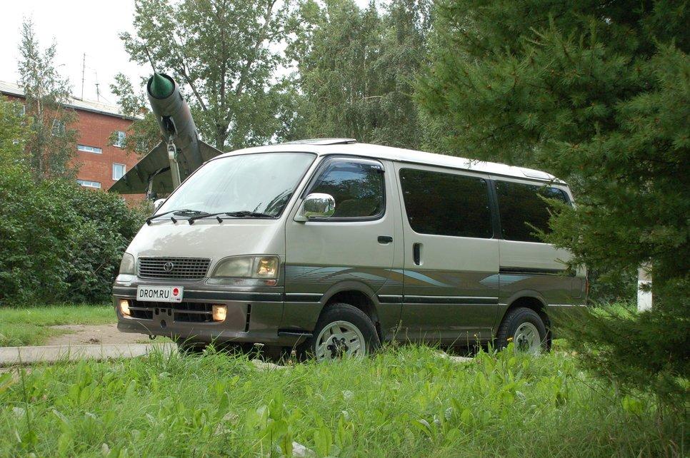 характеристики и фото toyota hiace granvia 2005