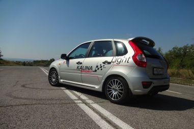 Первый тест-драйв Lada Kalina Drive Active, бывшая Sport Light