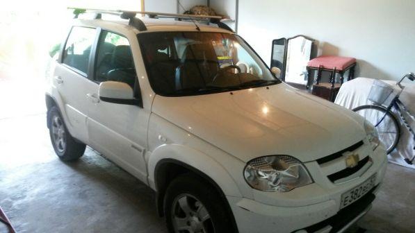 Chevrolet Niva 2012 - отзыв владельца