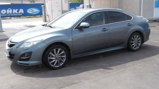 Mazda Mazda6 2012 - отзыв владельца
