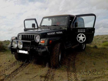 Jeep Wrangler 1998 - отзыв владельца