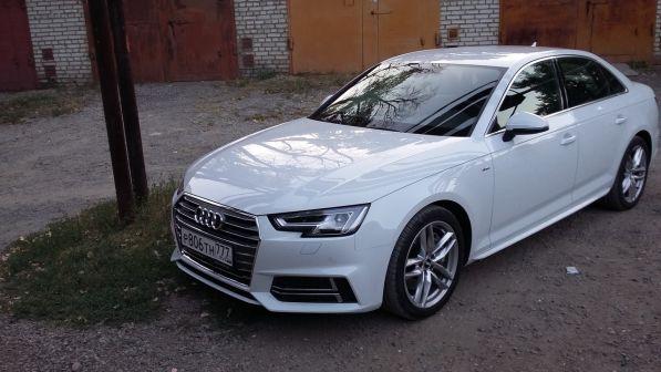 Audi A4 2016 - отзыв владельца