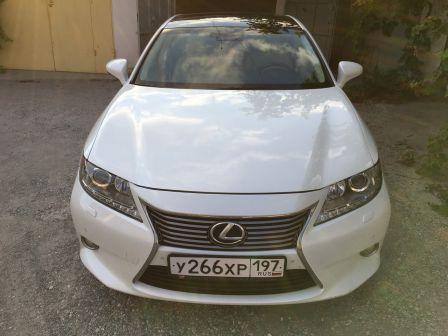 Lexus ES350 2012 - отзыв владельца