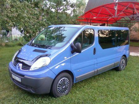 Renault Trafic 2012 - отзыв владельца