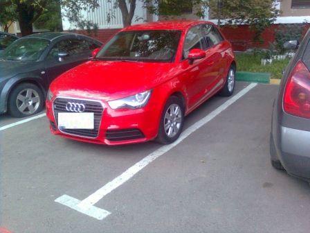 Audi A1 2012 - отзыв владельца
