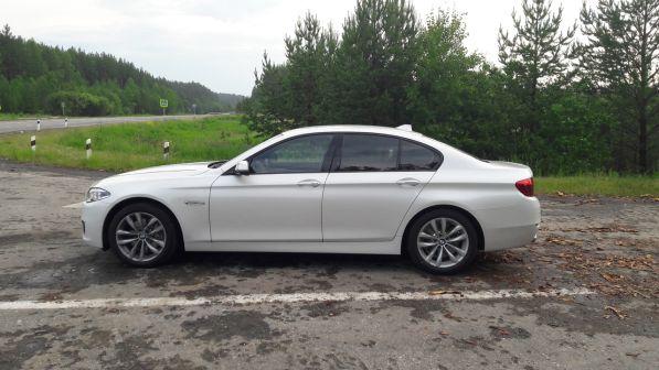 BMW 5-Series 2016 - отзыв владельца