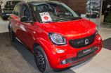 Smart Forfour. CADMIUM RED (МЕТАЛЛИК)