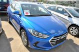 Hyundai Elantra. MARINA BLUE_СИНИЙ (N4B)