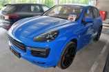Porsche Cayenne. СИНИЙ МЕТАЛЛИК_SAPPHIRE BLUE (N1)