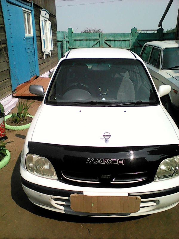 Nissan March, 1999 год, 135 000 руб.