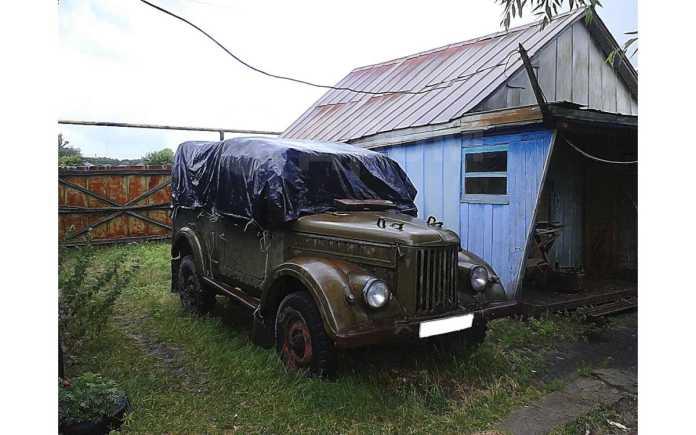 ГАЗ 69, 1972 год, 130 000 руб.