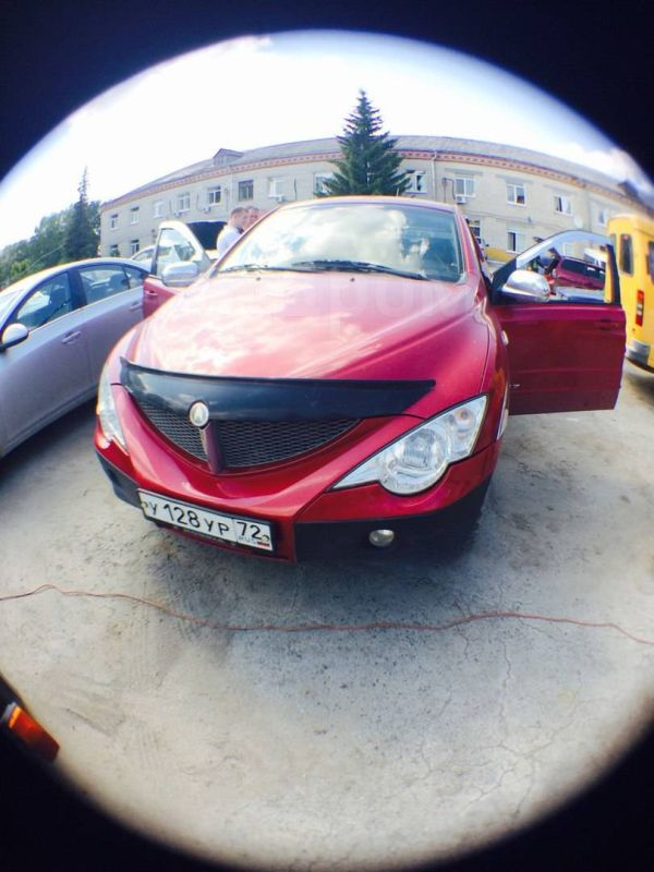 SsangYong Actyon Sports, 2007 год, 350 000 руб.