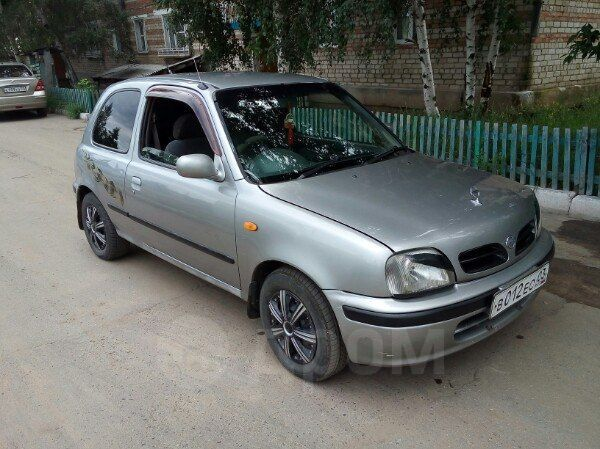 Nissan March, 1999 год, 120 000 руб.