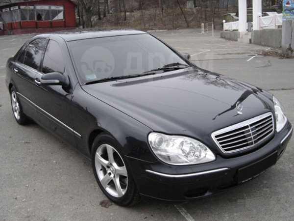 Mercedes-Benz S-Class, 2002 год, 550 000 руб.
