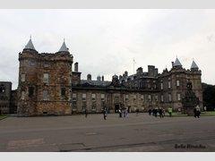 Холирудский дворец, Эдинбург, Шотландия