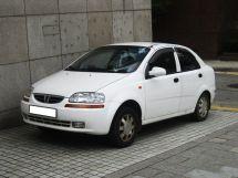 Daewoo Kalos 1 поколение, 01.2002 - 01.2006, Седан