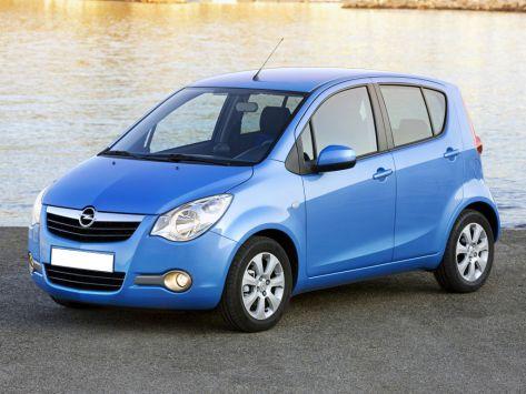 Opel Agila (B) 05.2007 - 11.2014