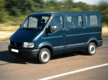 Opel Movano 2010, автобус, 3 поколение
