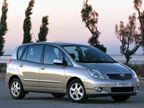Toyota Corolla Verso E120