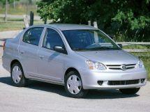 Toyota Echo рестайлинг 2002, седан, 1 поколение, XP10