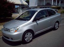 Toyota Echo рестайлинг 2002, купе, 1 поколение, XP10