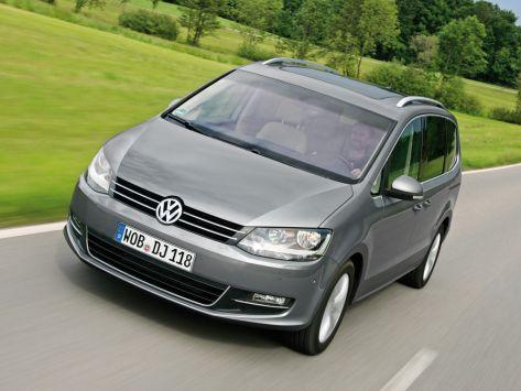 Volkswagen Sharan (7N1) 04.2010 - 05.2015