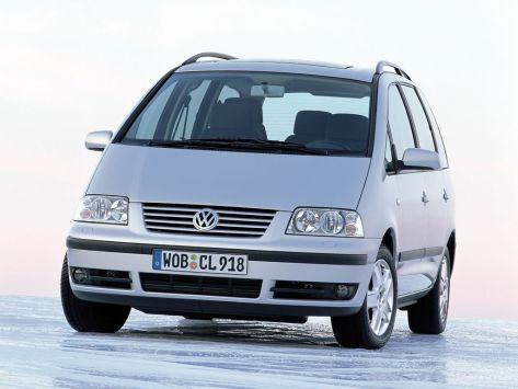 Volkswagen Sharan (7M) 10.2005 - 08.2010